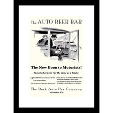 <strong>Buyenlarge</strong> The Auto Beer Bar Framed and Matted Print