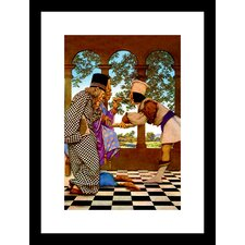 The Chancellor and the King Sampling Tarts Maxfield Parrish Framed Painting Print
