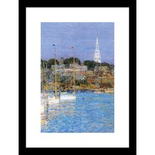Cat Boats, Newport Framed Painting Print