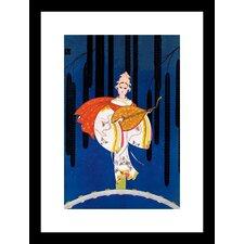 Goddess of Music Framed Graphic Art