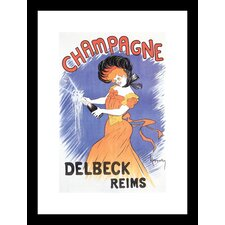 <strong>Buyenlarge</strong> Delbeck Reims Champagne Framed and Matted Print