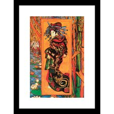 <strong>Buyenlarge</strong> Japanaiserie Oiran Framed and Matted Print