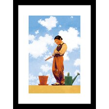 Spring Planting by Maxfield Parrish Framed Graphic Art