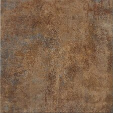 "Reactions 4"" x 4"" Porcelain Trama Bordo in Brown Bullnose"