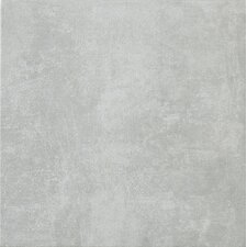 "Reactions 12"" x 12"" Glazed Porcelain Field Tile in Grey"