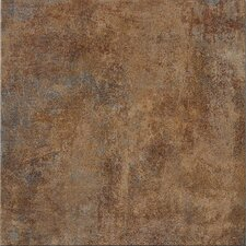 "Reactions 12"" x 12"" Glazed Porcelain Field Tile in Brown"