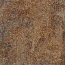 "Reactions 12"" x 12"" Glazed Porcelain Field Tile in Brown"