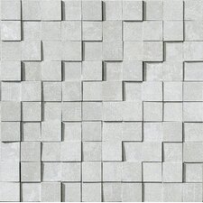 "<strong>Marca Corona</strong> Reactions 12"" x 12"" Glazed Porcelain Brick in Grey"