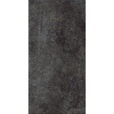 "<strong>Marca Corona</strong> Reactions 12"" x 24"" Glazed Porcelain Field Tile in Black"