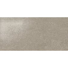 "<strong>Marca Corona</strong> Ecoliving 12"" x 24"" Semi Polished Porcelain Field Tile in Grey Reflex"