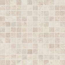 "Italian Stone 12"" x 12"" Porcelain Mosaic in Grigio"