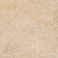 """Italian Stone 12"""" x 12"""" Glazed Porcelain Field Tile in Ocra"""