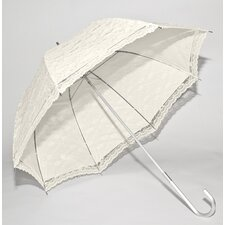 Ivory Lace Wedding Umbrella