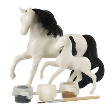 Mare and Foal Painting Play Set