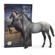 Wild Blue Horse and Book Set