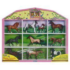 Stablemates Horse Lover's Collection Shadow Box Set (Set of 10)