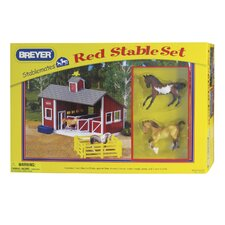 <strong>Breyer Horses</strong> Stablemates Stable Play Set