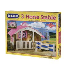 Classics 3-Horse Stable Play Set