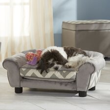 <strong>Enchanted Home Pet</strong> Ultra Plush Lotus Dog Sofa