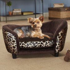 Ultra Plush Snuggle Dog Bed