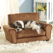 Ultra Plush Club Dog Sofa