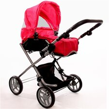 <strong>The New York Doll Collection</strong> Bassinet Doll Stroller