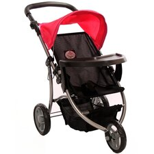 <strong>The New York Doll Collection</strong> Single Doll Jogging Stroller