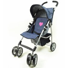 <strong>The New York Doll Collection</strong> Single Doll Stroller