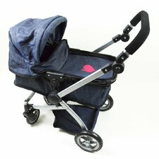 <strong>The New York Doll Collection</strong> Babyboo Bassinet Doll Stroller