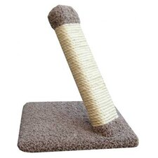 Angled Sisal Rope Scratching Post