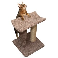 Sisal Rope Cat Scratch Post & Perch