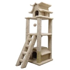 "67"" Designer Pagoda Cat Tree"