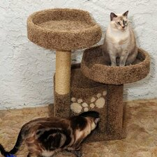 <strong>New Cat Condos</strong> Double Perch Cat Condo