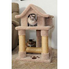 Pagoda Kitty Scratcher