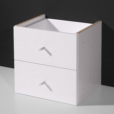 Ligne 2 Drawer Filling Cabinet (Set of 2)