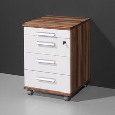 Ligne 4 Drawer Filing Cabinet