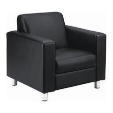 Leather Reception Armchair