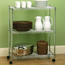 "UltraZinc Home Style Wire System 36"" H Shelf Shelving Unit"