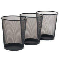 Mesh Waste Basket (Set of 3)