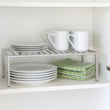 Expandable Kitchen Cabinet Shelf Organizer