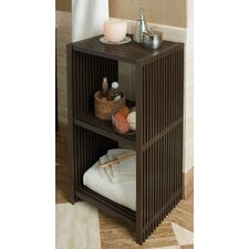 Classic Lines 3 Tier Nightstand and Storage Bookshelf