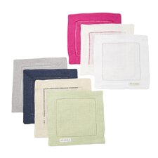 Festival Pure Linen Cocktail Napkin (Set of 6)