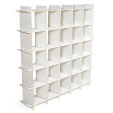 "25 Cubby Modern 58.3"" Bookcase"