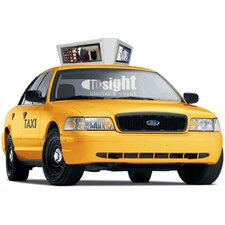 "Taxi Top Digital Signage Enclosure for Three 29"" LCDs"