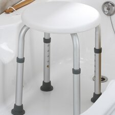 Tool Free Round Shower Chair