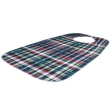 <strong>Essential Medical</strong> Deluxe Bib in Plaid