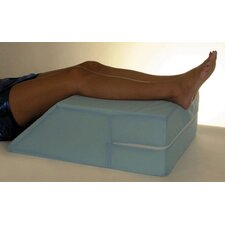 Elevating Leg Support with Cover in Blue Cotton/Poly Cover