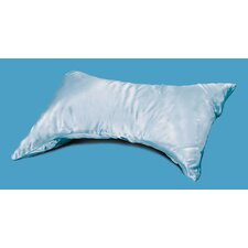 E-Z Sleep Pillow in Blue Satin