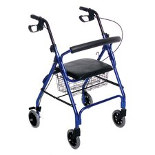 <strong>Essential Medical</strong> Essential Rollator with Loop Brakes