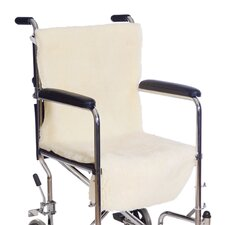 Sheepette Wheelchair Seat and Back
